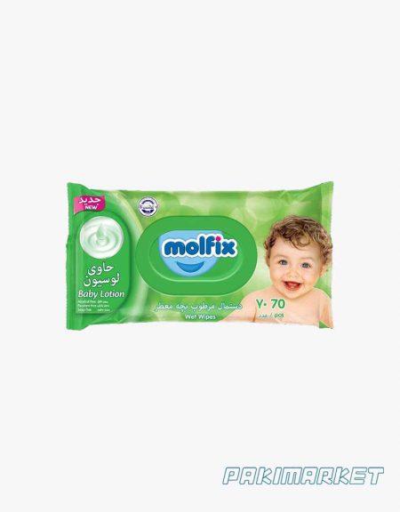 دستمال مرطوب مولفيکس سبز